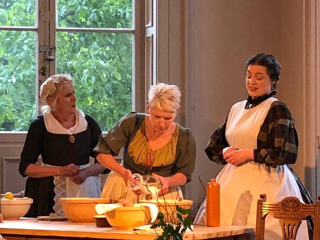 Foods and Feuds: Two Cooks of Hexham – Hannah, Ann and Isabella. © Becky Madeley